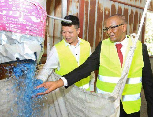 Empresa china invierte en el reciclaje de Kenia